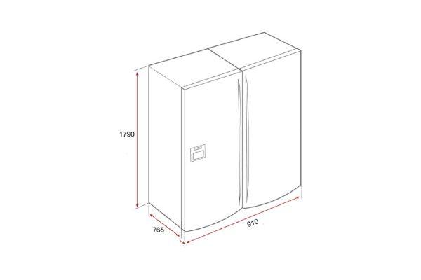 Tủ Lạnh Teka NFD 650 40666650